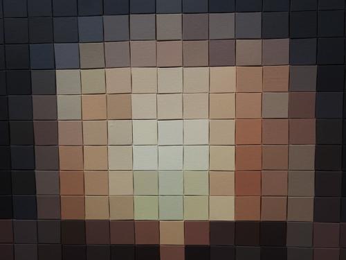 Close up of the many shades